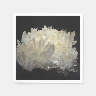 Stunning Quartz Crystal Disposable Napkins