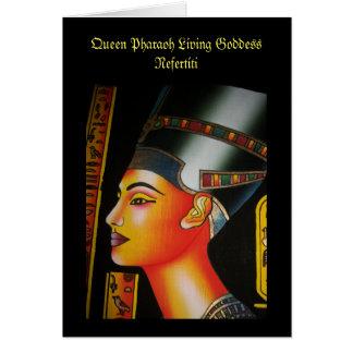 Stunning Queen Nefertiti Card
