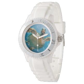 Stunning sea tortoise watch