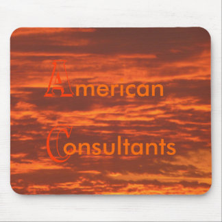 Stunning Skies with Business Name Mousepad