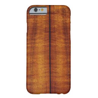 Stunning Split Hawaiian Koa Longboard Style Barely There iPhone 6 Case