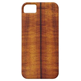 Stunning Split Hawaiian Koa Longboard Style iPhone 5 Cover