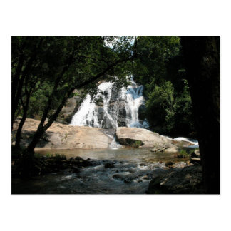 Stunning waterfall in South Africa Postcard