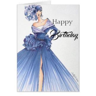 Stunningly Dramatic Birthday Card! Card