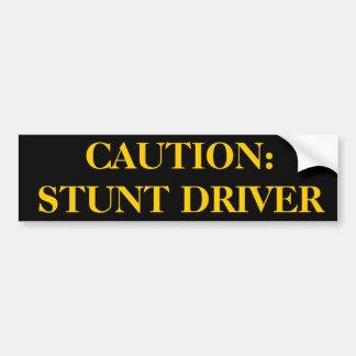 Stunt Driver Sticker