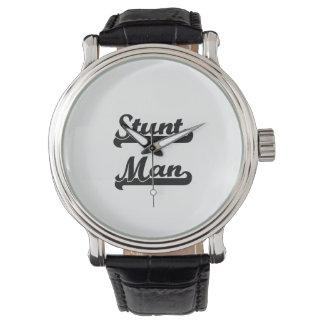 Stunt Man Classic Job Design Watch