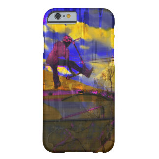 Stunt-Scooter Fine Art Sports Design Barely There iPhone 6 Case