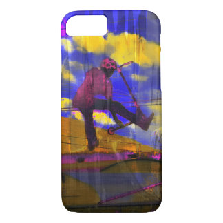 Stunt-Scooter Fine Art Sports Design iPhone 8/7 Case