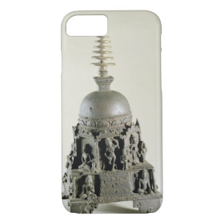 Stupa, Pala, Nalanda, Bihar (bronze) iPhone 7 Case