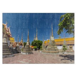 Stupas, Wat Pho, Bangkok, Thailand Cutting Board