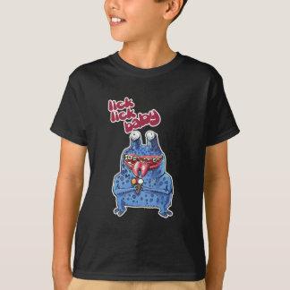 stupid alien cartoon style funny illustration T-Shirt