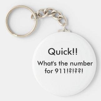 Stupid Question Key Ring