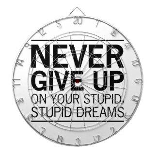 Stupid Stupid Dreams Dartboard