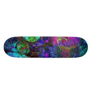 stupid zebra skateboard deck