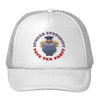 Stupidity Vote TEA Hat