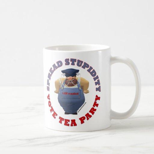 Stupidity Vote TEA Mug