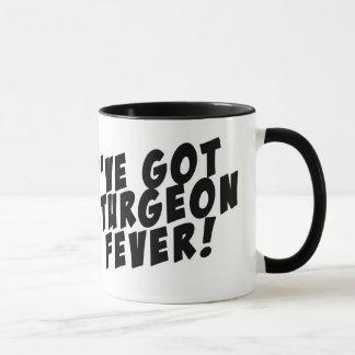 Sturgeon Fever Ringer Mug