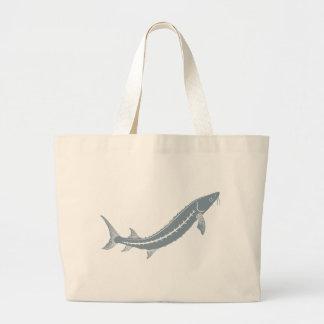 Sturgeon Fish Jumbo Tote Bag