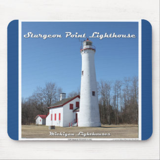 Sturgeon Point Lighthouse Mousepad Mouse Pad