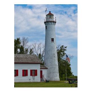 Sturgeon Point Lighthouse Postcard