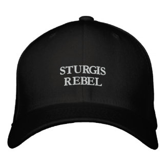 STURGIS REBEL EMBROIDERED HATS