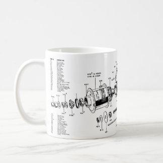 Sturmey-Archer Three-speed Mug (w/ parts list)