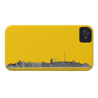 Stuttgart city of skyline - Blackberry covering iPhone 4 Case