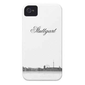 Stuttgart city of skyline - Blackberry covering iPhone 4 Case-Mate Case