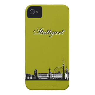 Stuttgart city of skyline - Blackberry covering iPhone 4 Cover