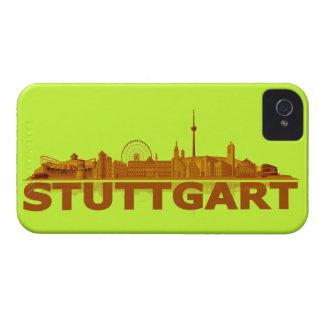 Stuttgart city of skyline - Blackberry covering iPhone 4 Covers