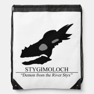 Stygimoloch Skull Drawstring Bag