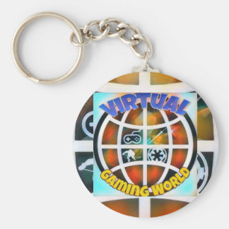 Style: Basic Button Keychain