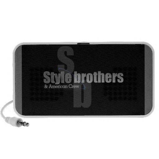 style brothers loudspeaker doodle travel speakers