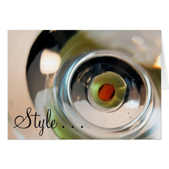 Style . . . card