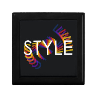 Style color twirl gift box
