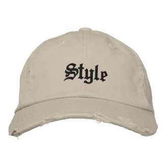 Style Embroidered Hat