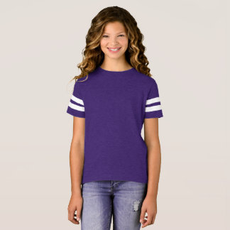Style: Girls' Football Shirt Whether it's Monday o