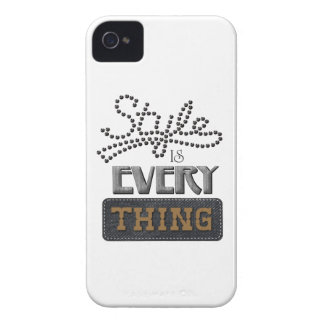 Style Is Everything iPhone 4 Case-Mate Case