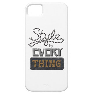 Style Is Everything iPhone 5 Covers