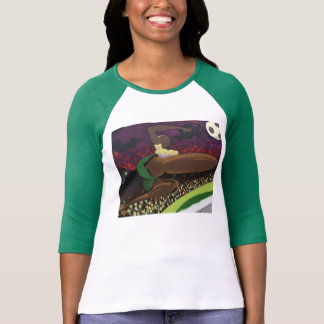 Style: Ladies 3/4 Sleeve Raglan (Fitted) T-Shirt