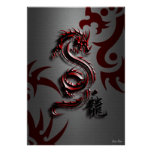 Style of the Red Dragon Poster