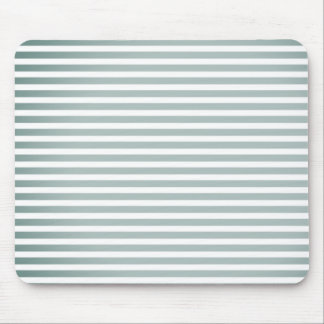 """Style"" Silver-Fog-White Stripes-Unisex Mouse Pad"