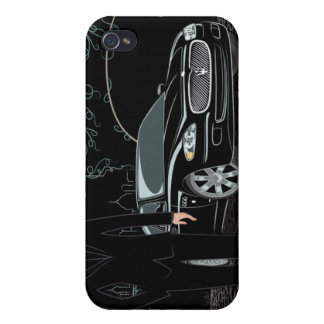Style Sleek ( Black ) iphone 4 Cover For iPhone 4