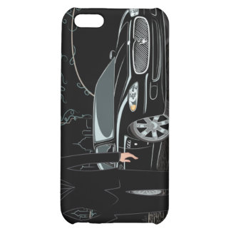 Style Sleek ( Black ) iphone 4 iPhone 5C Cover