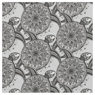 Style Turtle Pattern Fabric