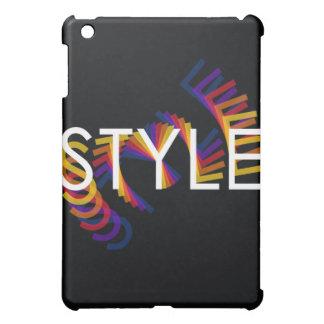Style twirl ipad case for the iPad mini