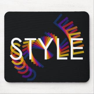 Style twirl mousepad