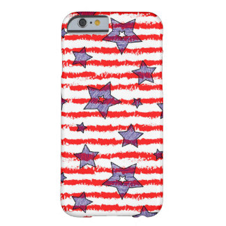 Styled American flag case