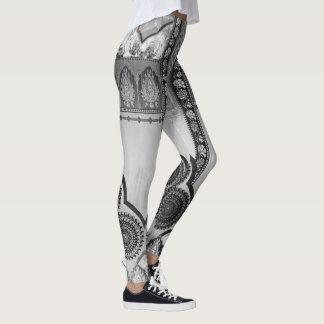 Styled in grey tone leggings