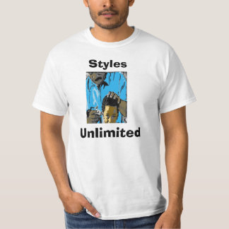 unlimited styles hair salon barber shop t shirts t shirt printing zazzle au 8550